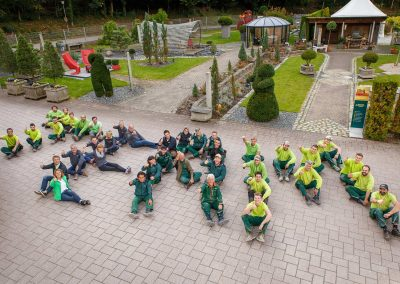 Das Team von Team Grün Furtner aus Freiburg