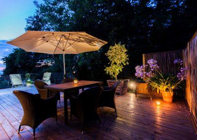 Terrassenbau für ruhige Abende