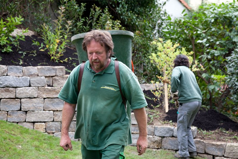 Professionellen Gartenservice von Team Grün