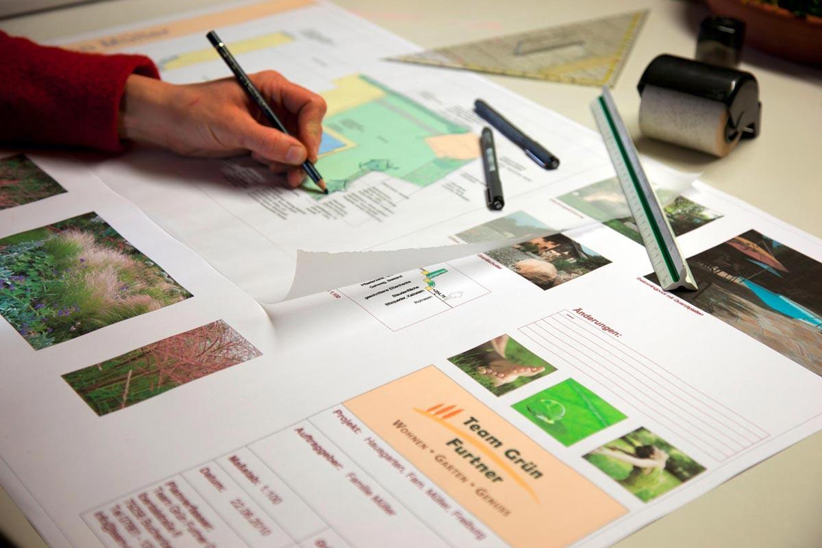 Individuelle Gartenplanung von Team Grün