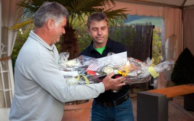 35-Jahre Herbert Hummel bei Team Grün Furtner in Buchenbach