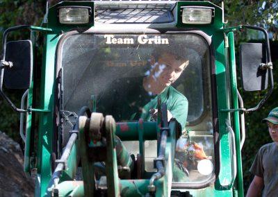 Land- und Baumaschinen für den Garten- und Landschaftsbau