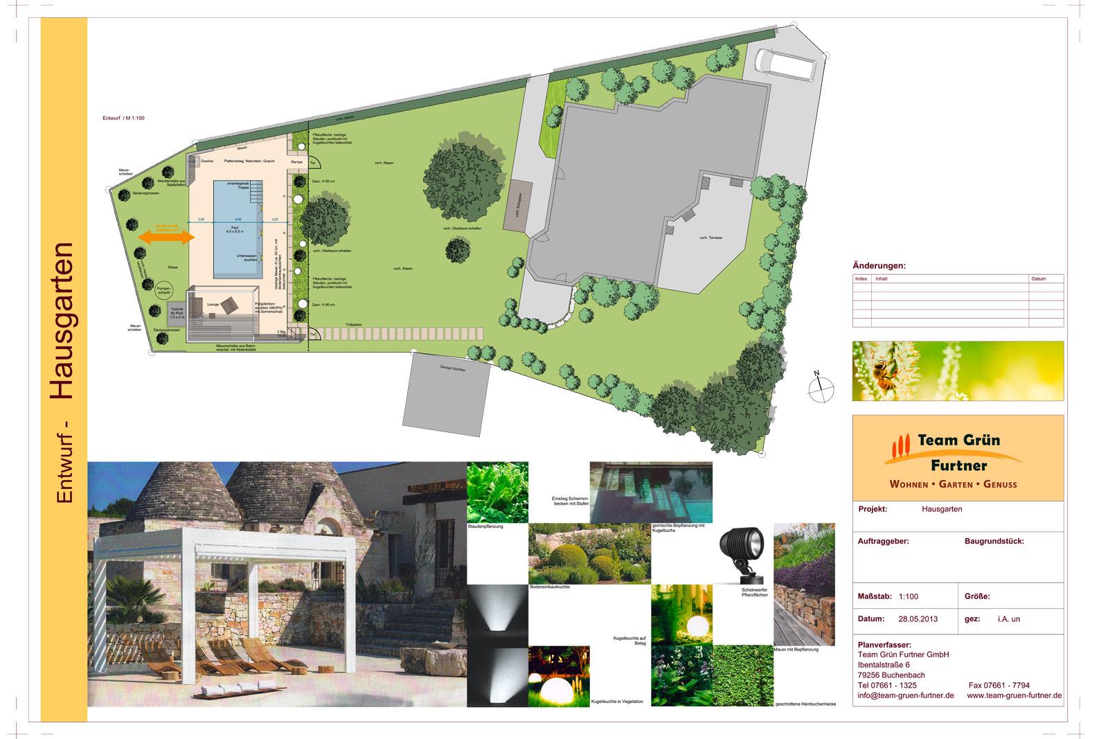 Pool Mit Blick In Die Landschaft Pools Gartenbau