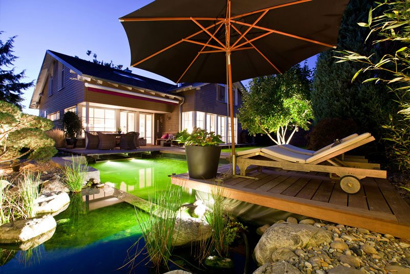 Schwimmteich für den Garten