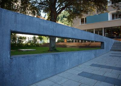 Mauerbau Als Sichtschutz
