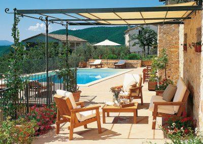 Erstklassige Qualität der Gartenmöbel von Unopiu