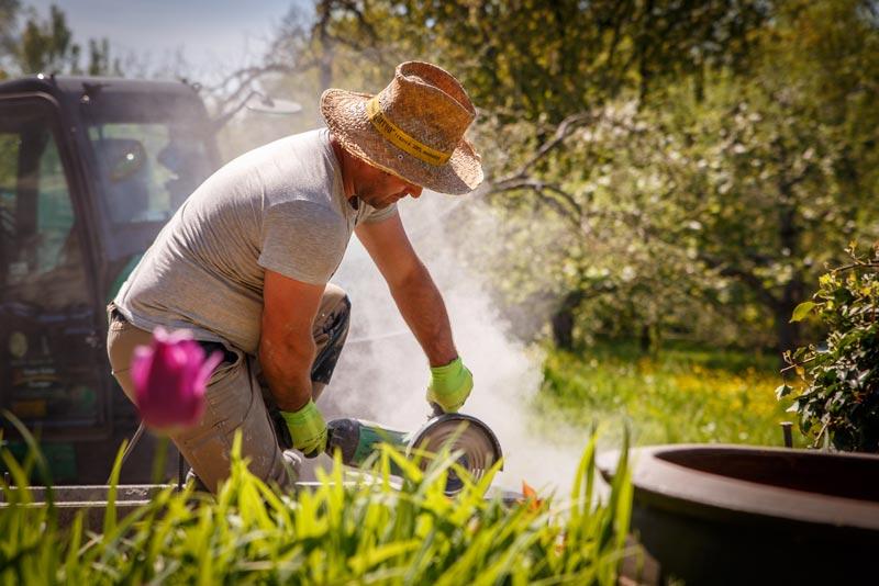 Erfahrene Gartenspezialisten kümmern sich um Ihren Garten
