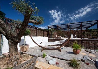 Modernes Garteninterieur