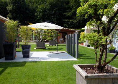 Hochwertige Gartenausstattung