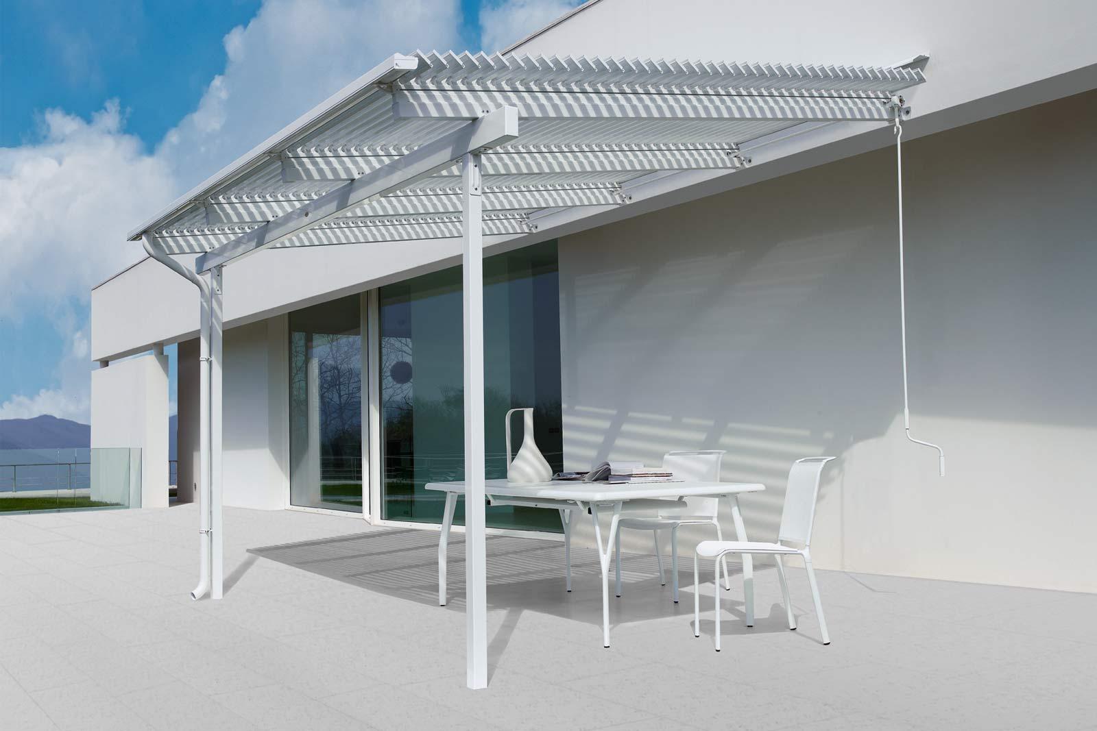 Innovative und stilvolle Überdachungen für den Garten