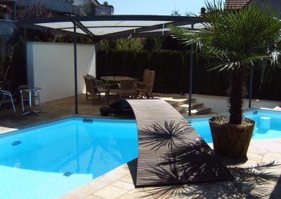 Design-Swimmingpool für den Garten