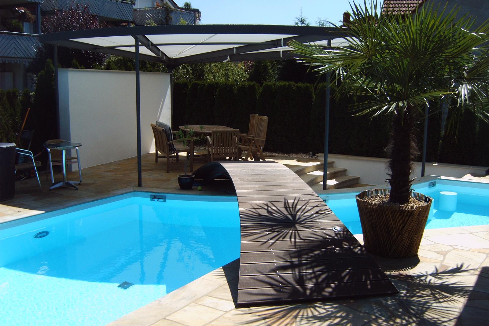 Schwimmbad Im Hausgarten