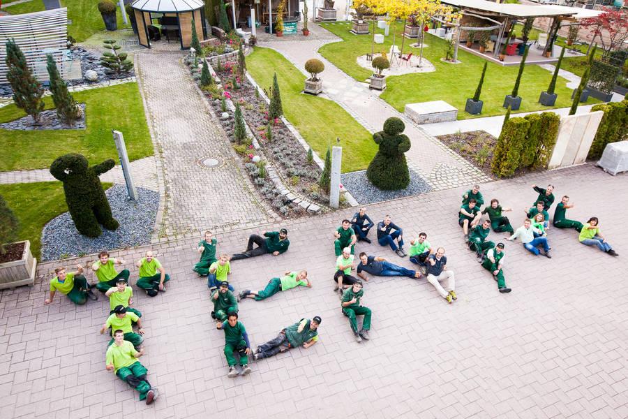 Garten und Landschaftsbau-Team von Team Grün