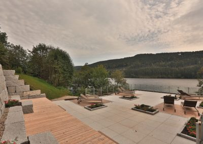 Terrassengestaltung beim Alemannenhof