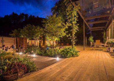 Gartenpool In Einer Modernen Gartenanlage