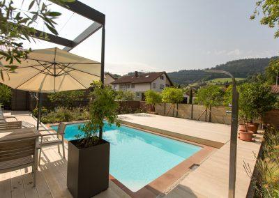 Gartenpool und Terrassengestaltung
