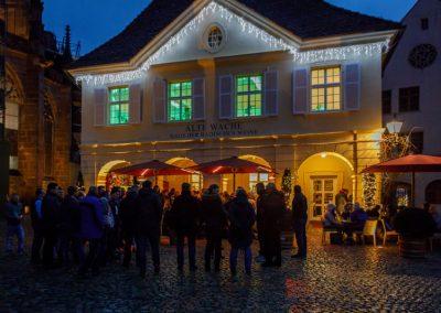 Zum Essen in der Alten Wache in Freiburg