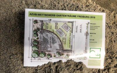 Teilnahme am Azubi-Wettbewerb auf der Gartenträume Messe 2018