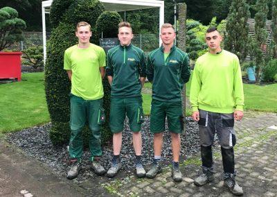 Auszubildende bei Team Grün