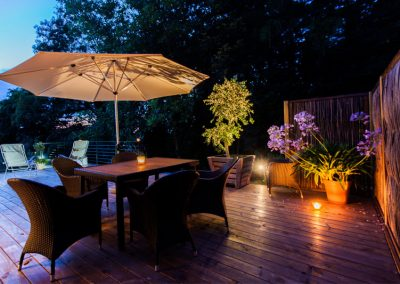 Behagliches Ambiente Durch Terrassengestaltung Mit Holz