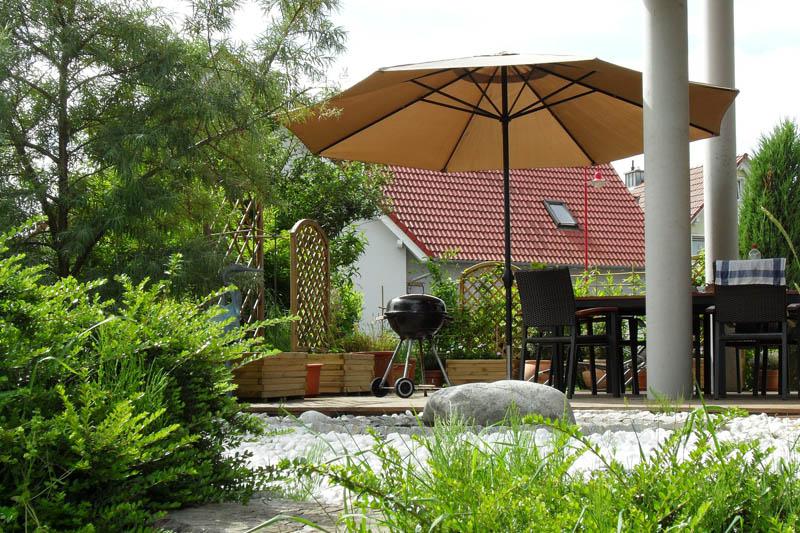 Sonnenschutz für Balkon und Terrasse - Schattenspender im ...