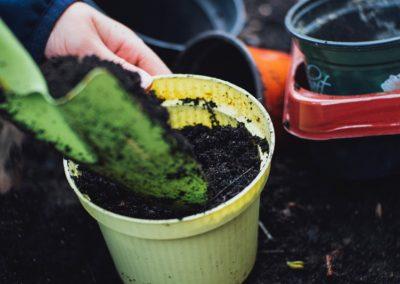 Erde Aus Kompost Wiederverwenden