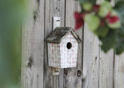Nistkasten Für Vögel An Der Wand Befestigt
