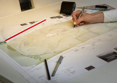 Planung für den Garten im Januar