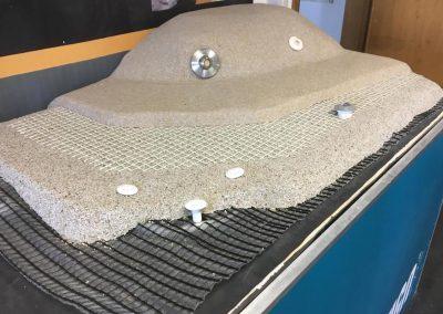 Schichten Aufbau der Biodesign Pools