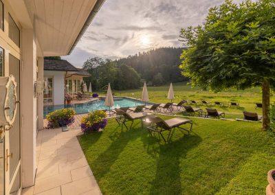 Wellness Hotel Gartengestaltung