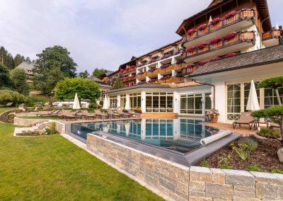Wellnesshotel mit Infinite Pool