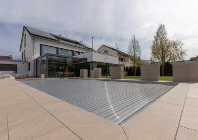Harmonischer Moderner Garten Passend Zum Haus