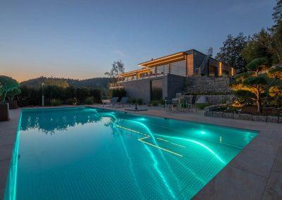 Moderne Pool Und Gartengestaltung Von Team Grün