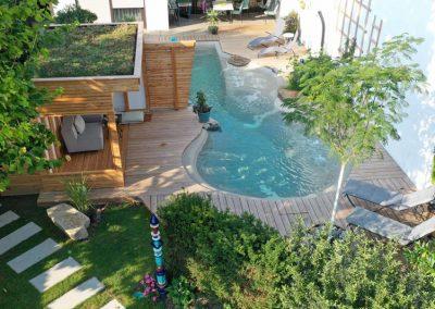 Biodesign Pool Mit Flachem Rand