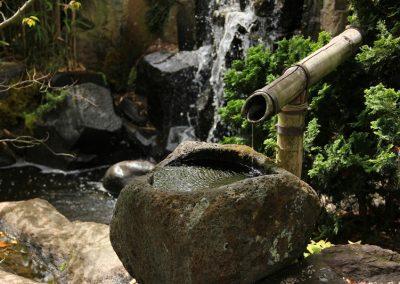 Wasserspiel Im Asiatischen Stil