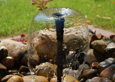Kleines Wasserspiel Für Den Garten