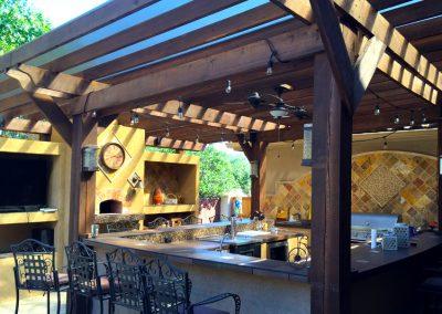 Im Freien Kochen Dank Outdoorküche