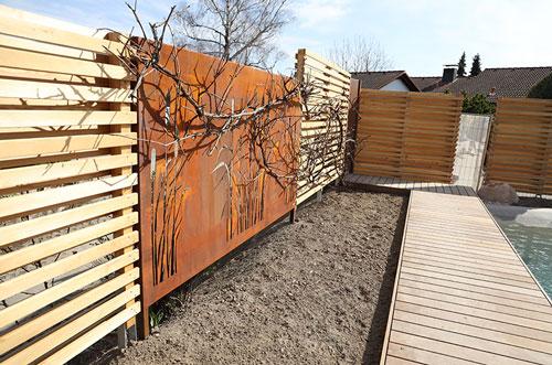 Sichtschutz-Im-Garten-Bauen