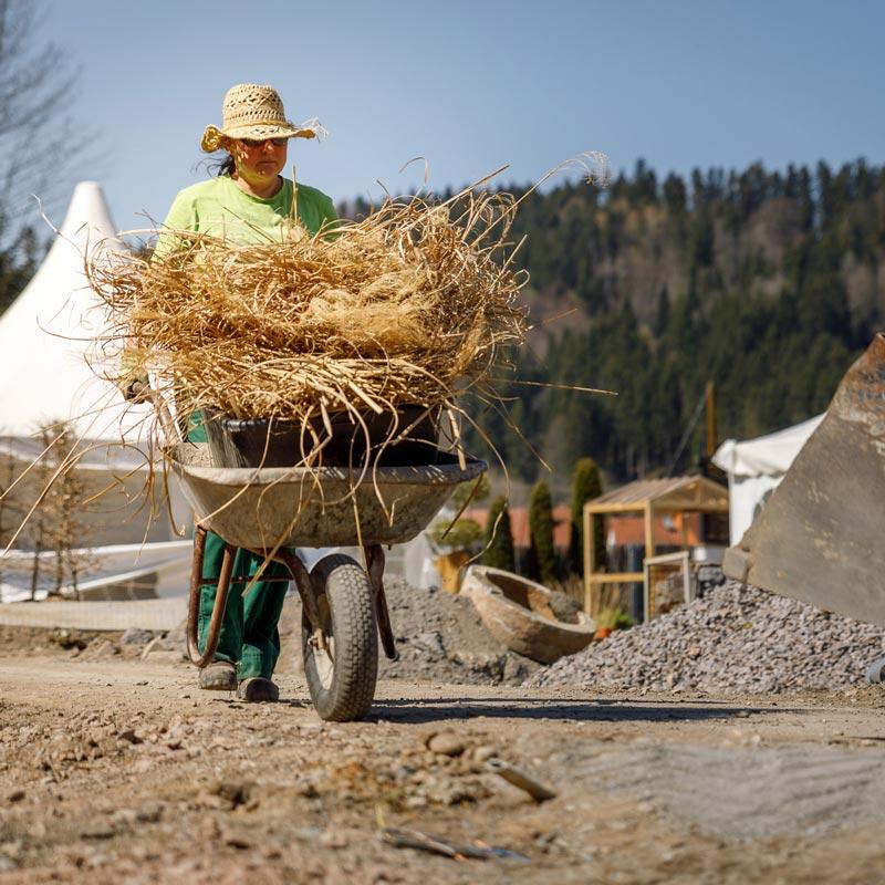 Bewirb Dich Als Hilfskraft Für Die Gartenpflege